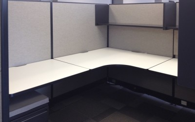 800 HAWORTH 7X8 CUBICLES